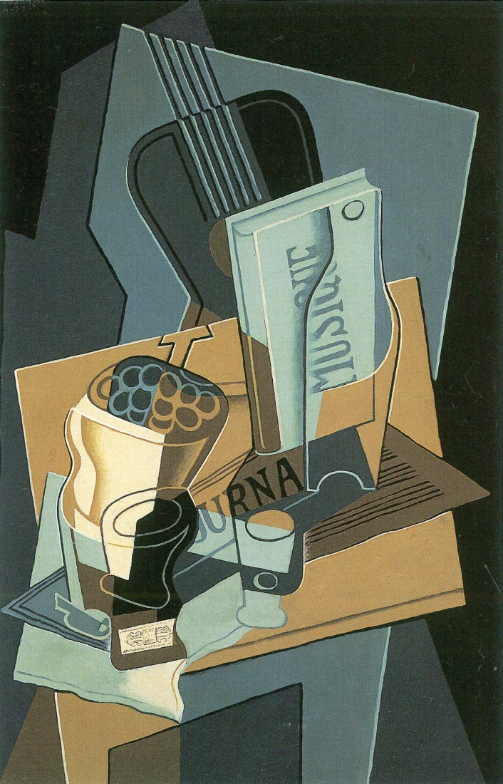 Sheet of Music - Juan Gris