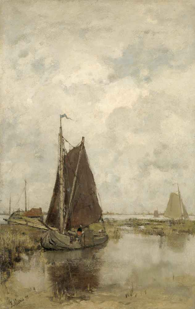 Ships in Dull Weather - Matthijs Maris