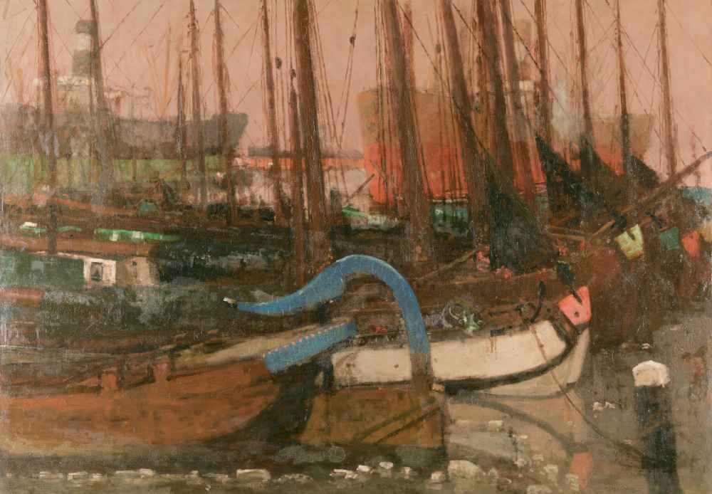 Ships in the Ice - George Hendrik Breitner