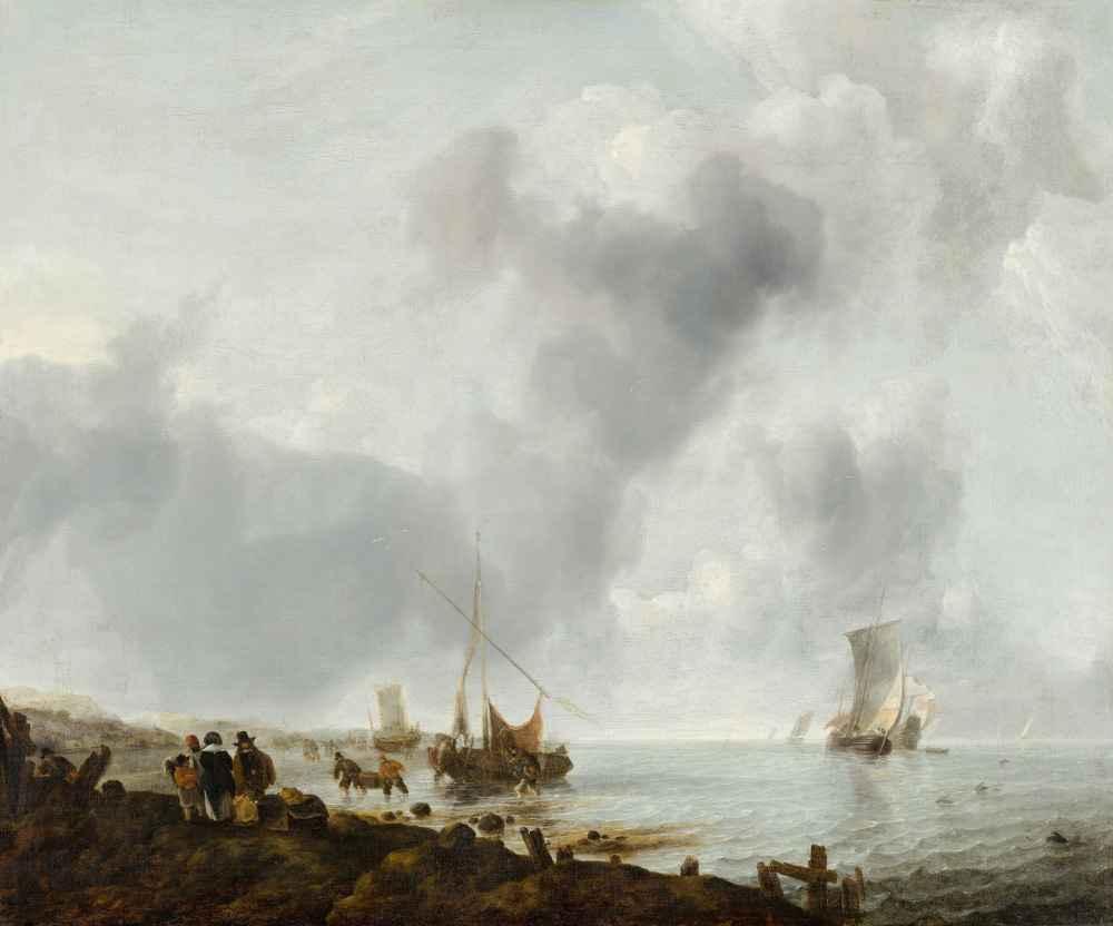 Ships off the Coast - Jan van de Cappelle