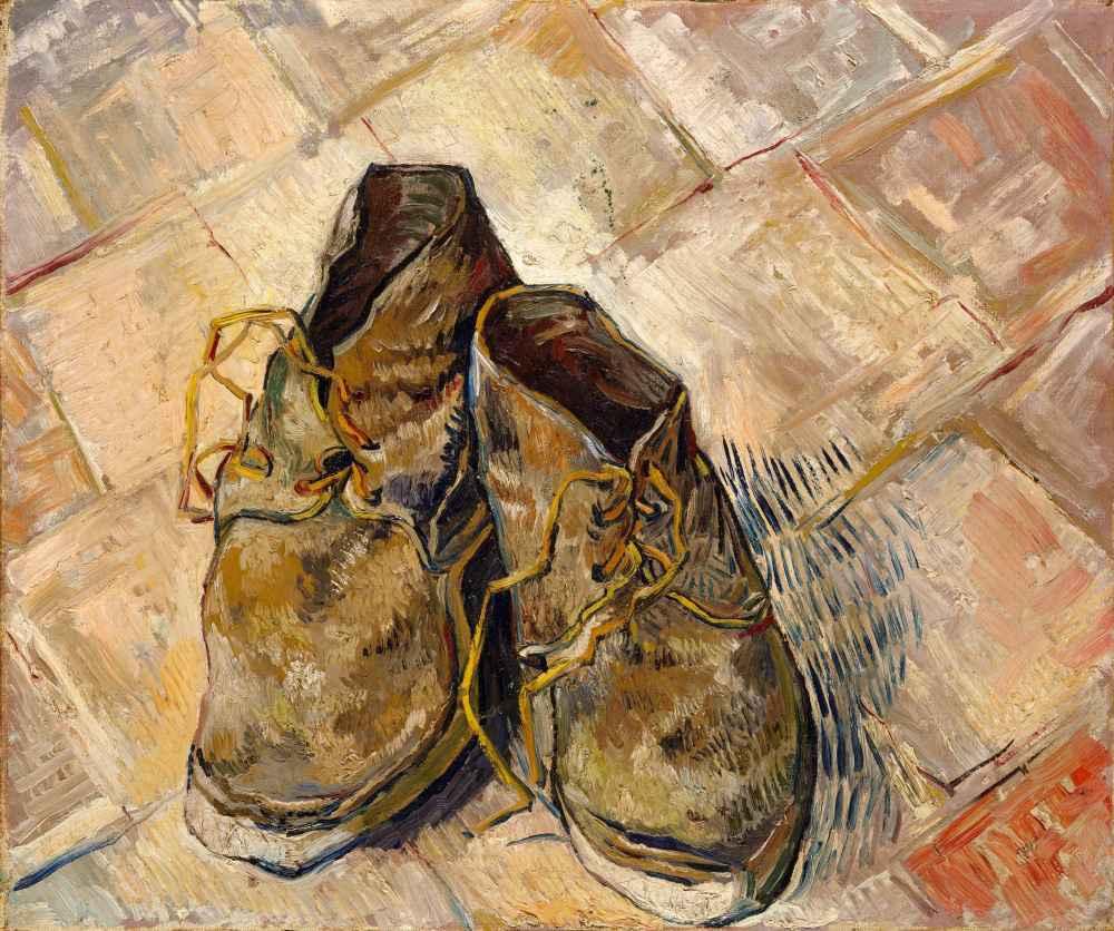 Shoes - Vincent van Gogh