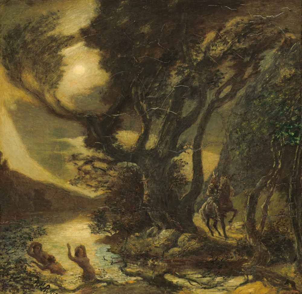 Siegfried and the Rhine Maidens - Albert Pinkham Ryder