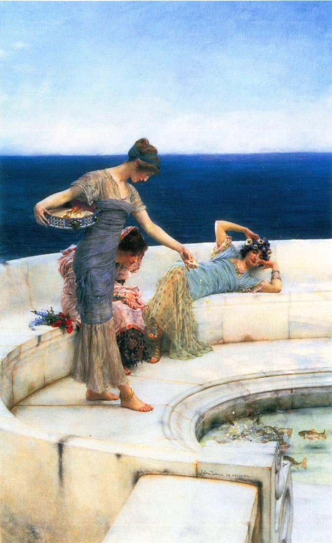 Silver Favorites - Alma-Tadema