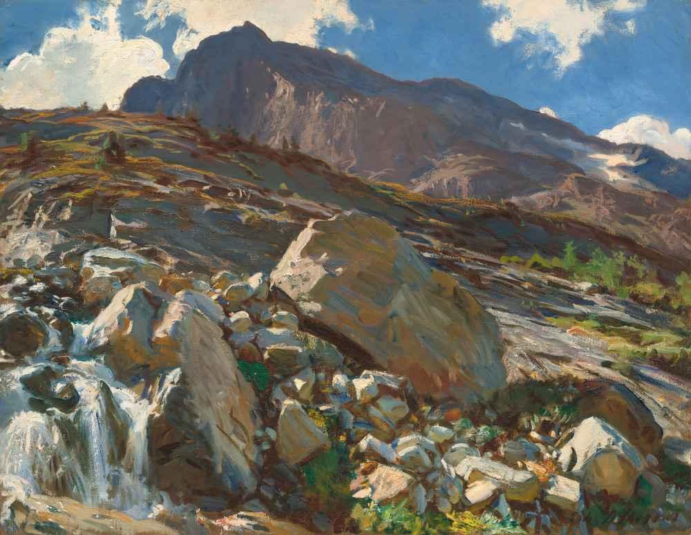 Simplon Pass - John Singer Sargent