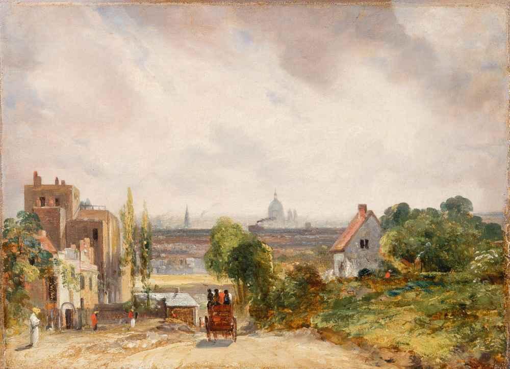 Sir Richard Steeles Cottage, Hampstead - John Constable