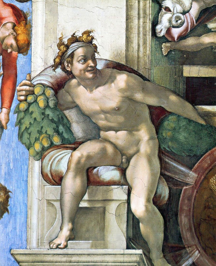 Sistine Chapel, decorative elements - Michelangelo