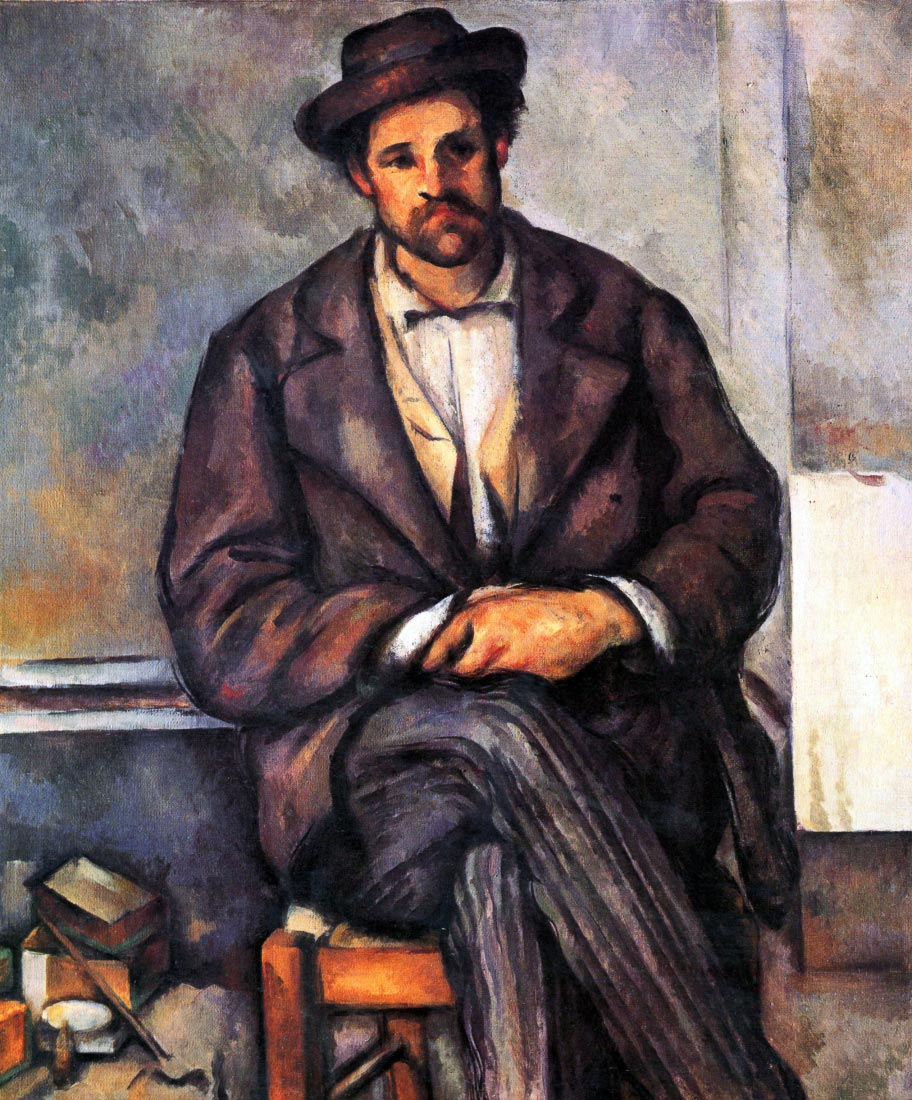 Sitting Farmer - Cezanne