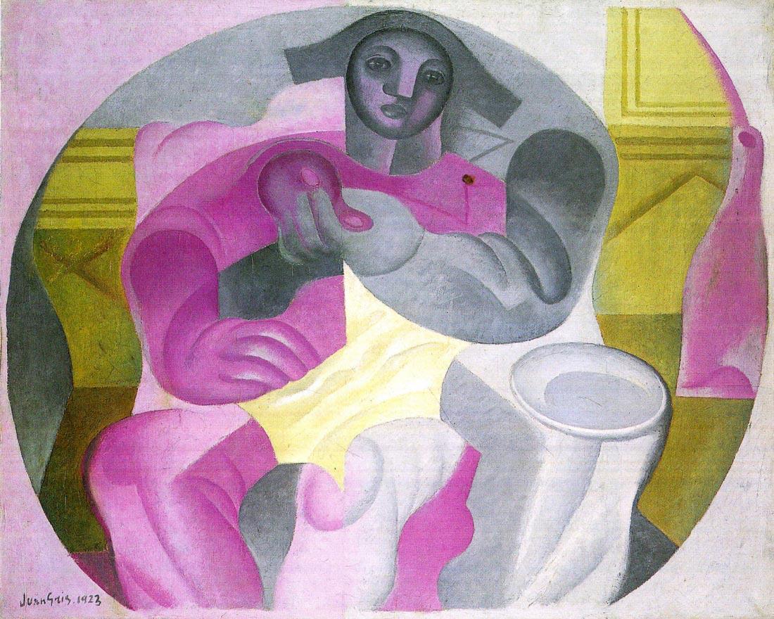 Sitting Harlequan - Juan Gris