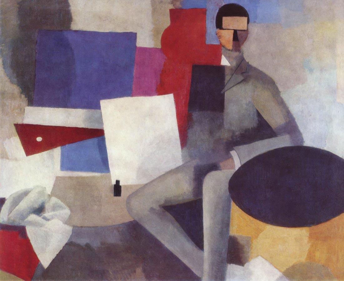 Sitting Man - La Fresnaye