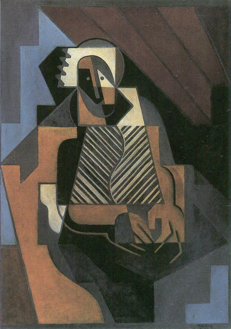 Sitting peasant woman - Juan Gris
