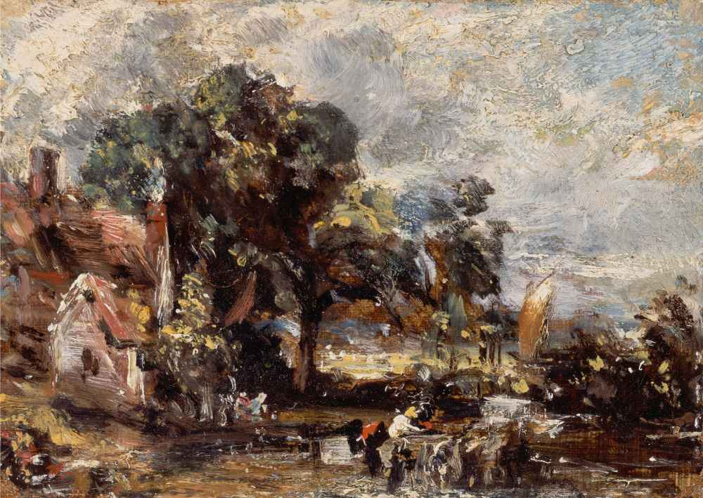 Sketch for The Haywain - John Constable