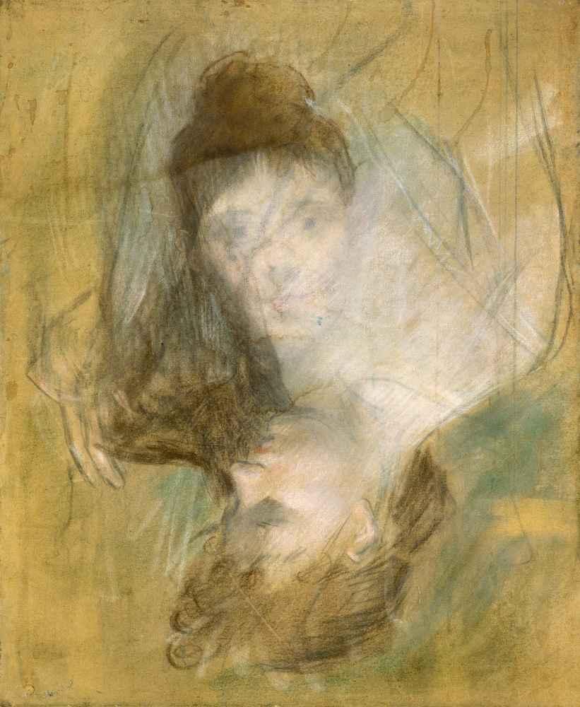 Sketch of a Woman - Jean Louis Forain