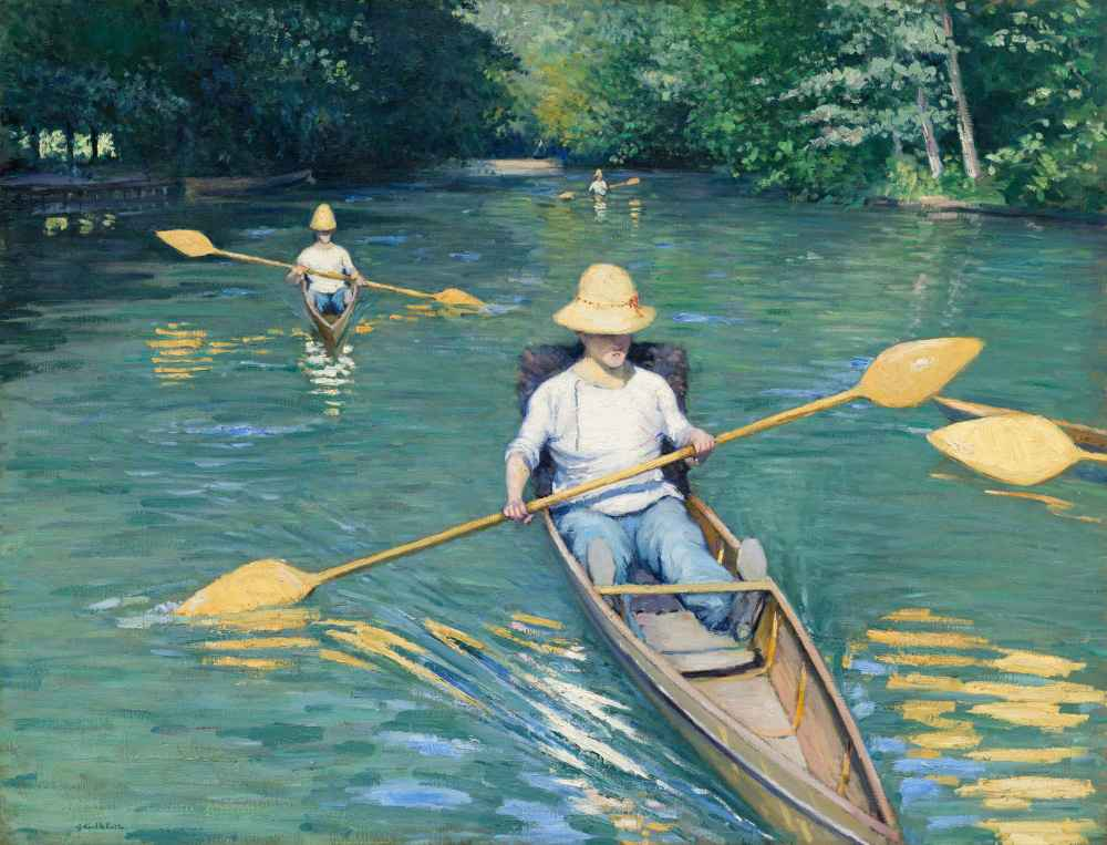 Skiffs - Gustave Caillebotte