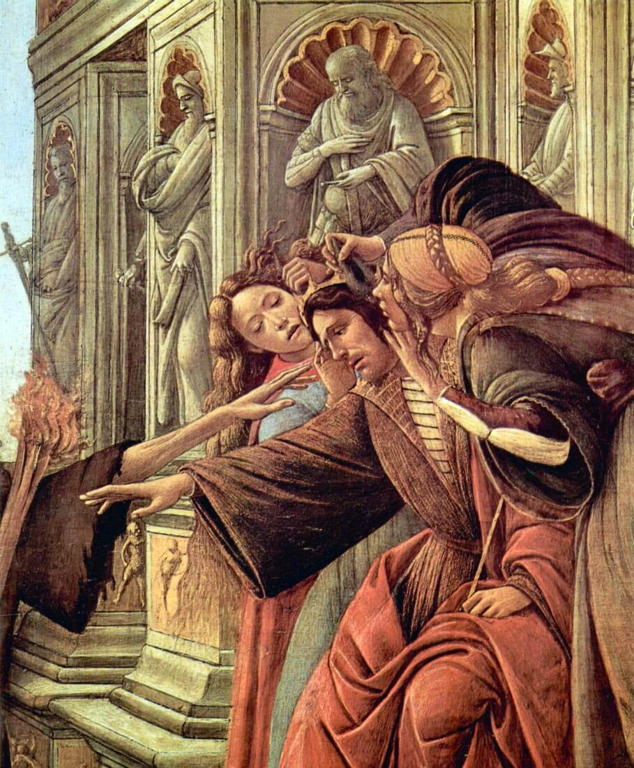 Slander Detail 2 - Botticelli