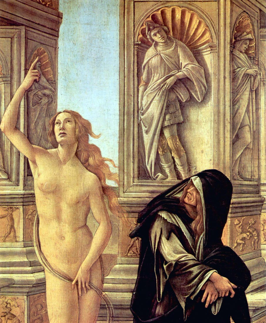 Slander Detail 3 - Botticelli