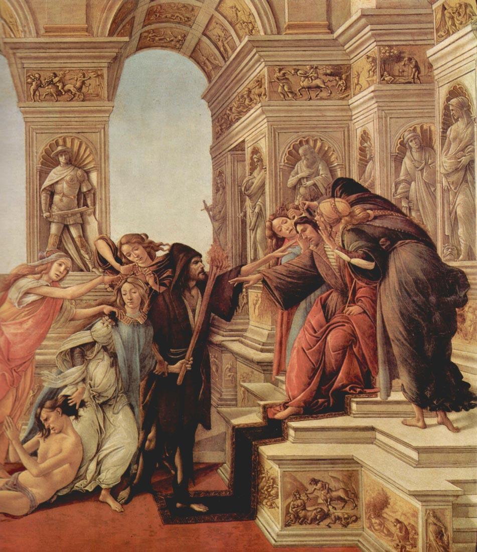 Slander Detail - Botticelli