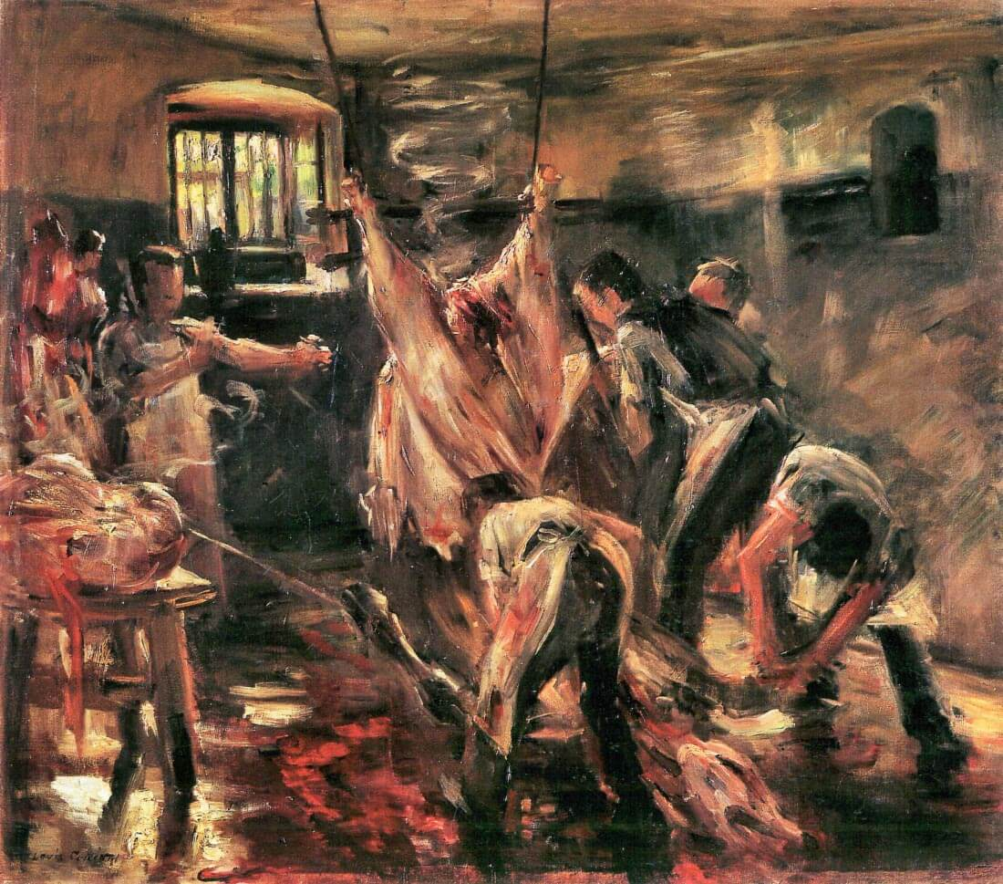 Slaughterhouse - Lovis Corinth