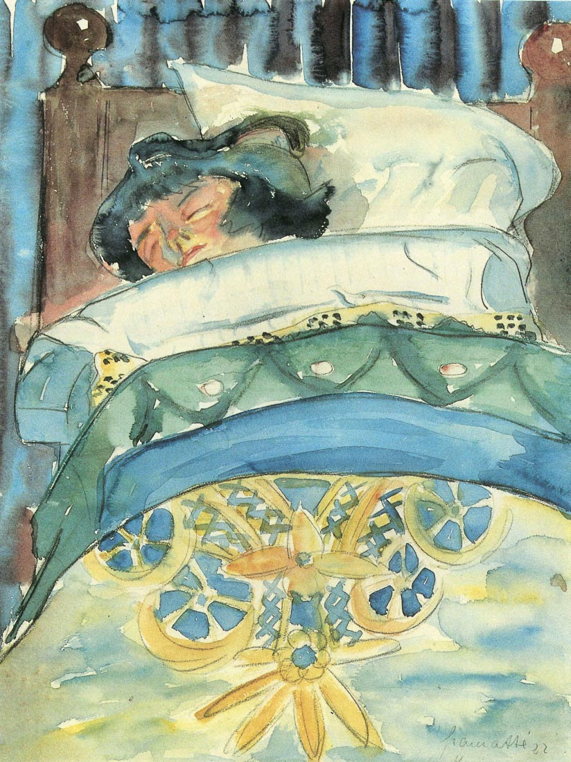 Sleeping girl (II) - Walter Gramatte