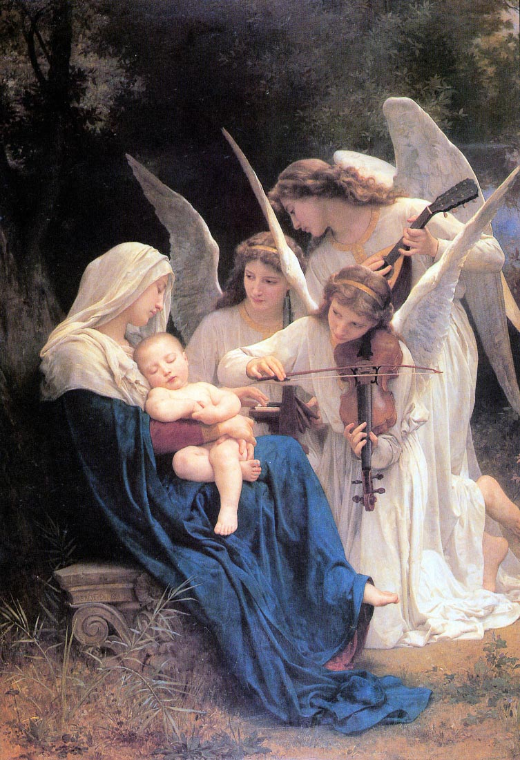 Song of the Angels versja 2 - Bouguereau
