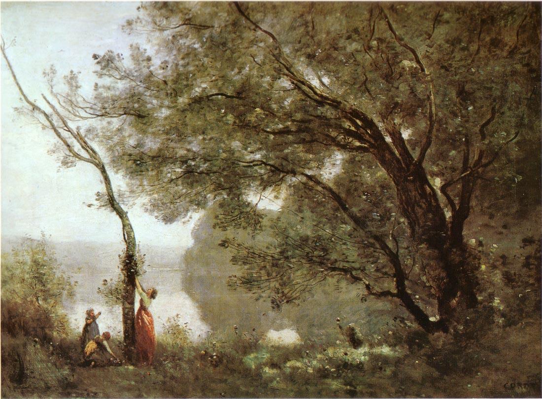 Souvenir de Mortefontaine - Corot