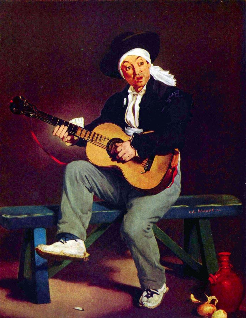 Spanish singer - Manet