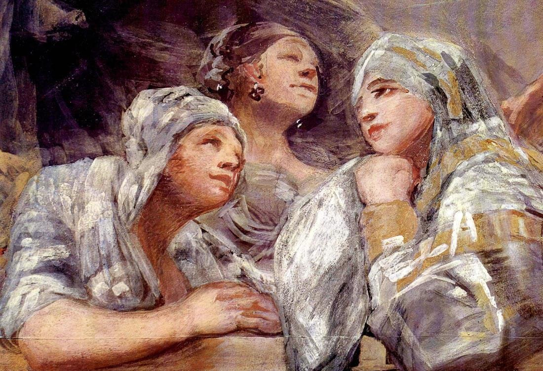 Spectators - Goya