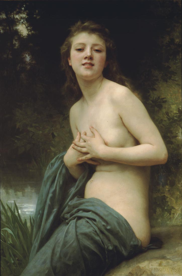 Spring Breeze - Bouguereau