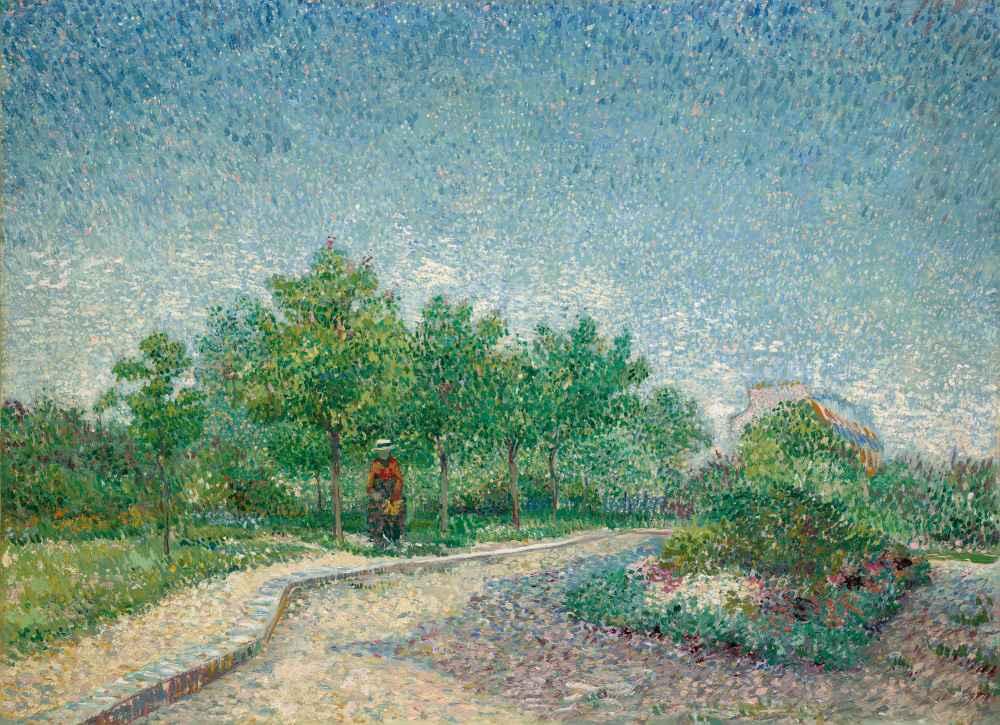 Square Saint-Pierre, Paris - Vincent van Gogh