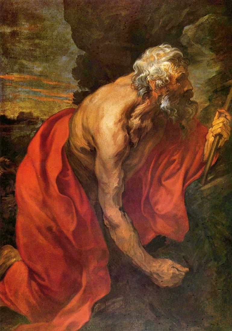 St Hieronymus - Van Dyck