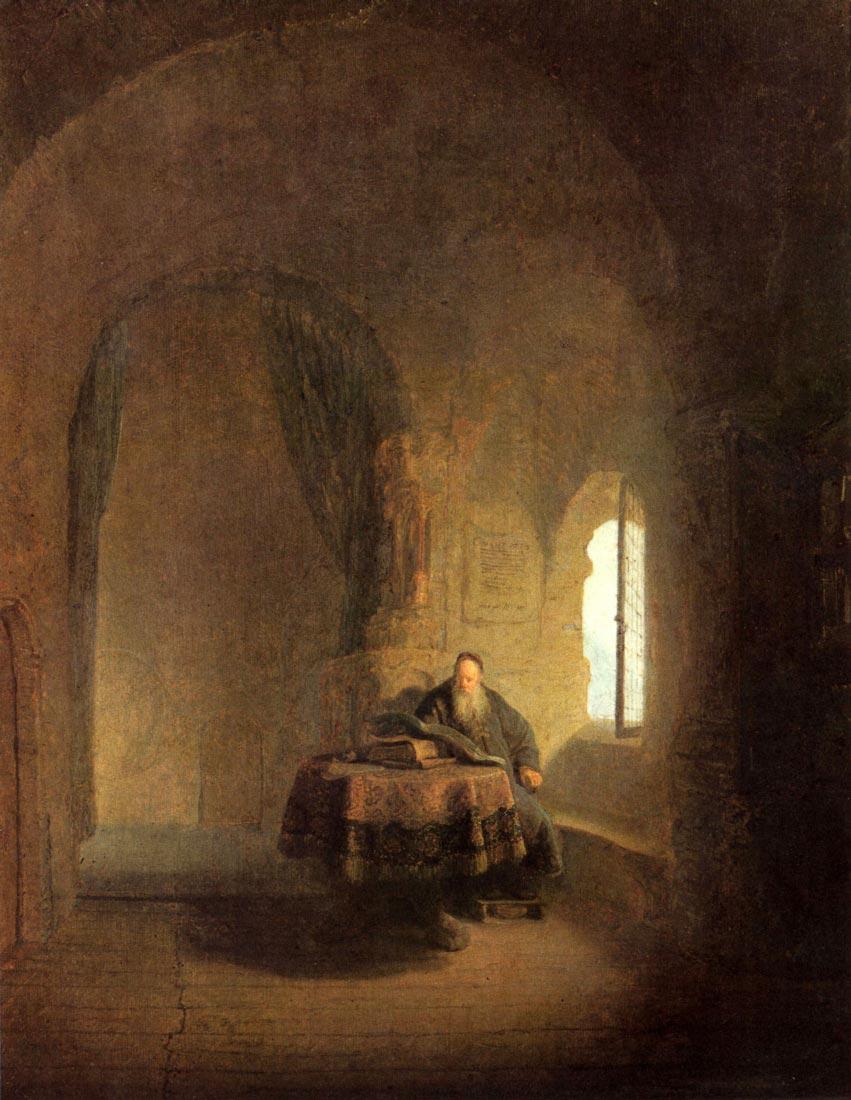 St. Anastasius - Rembrandt