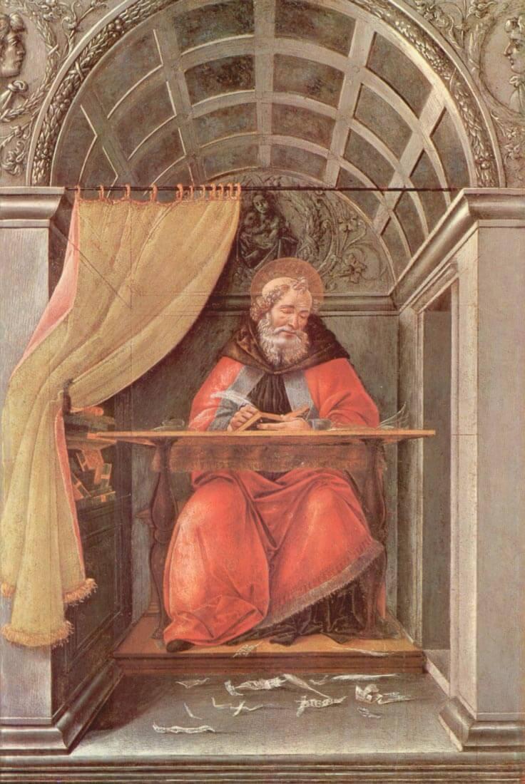 St. Augustine in Exam - Botticelli