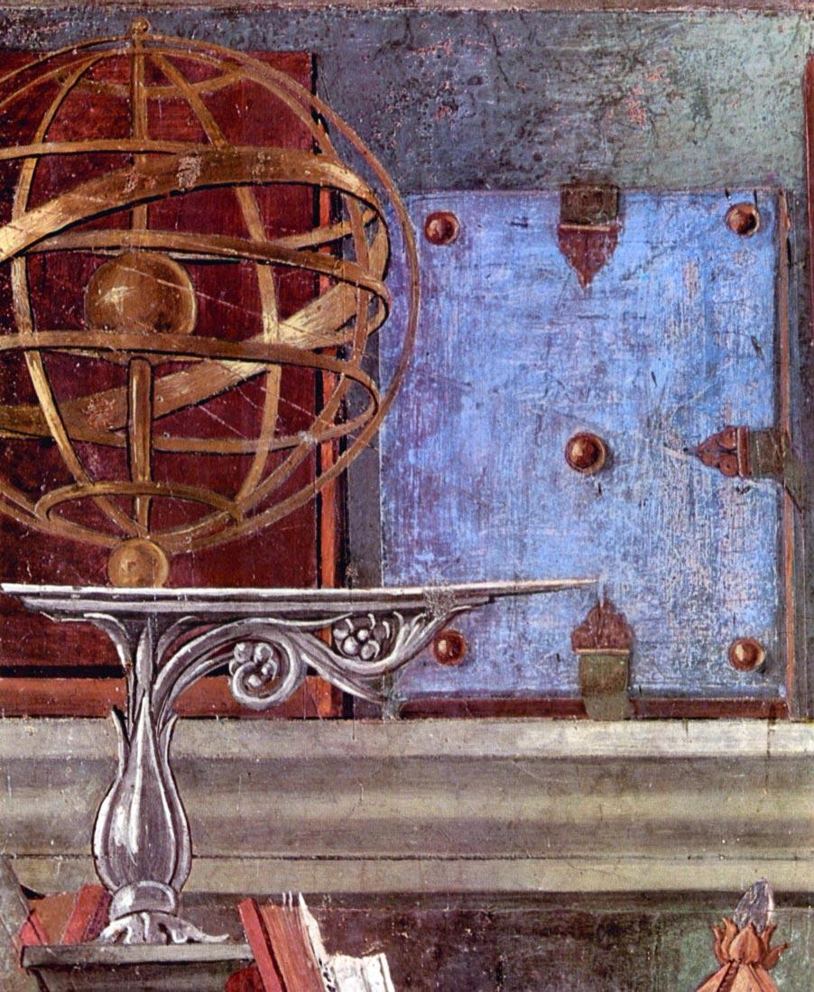 St. Augustine in prayer Detail - Botticelli