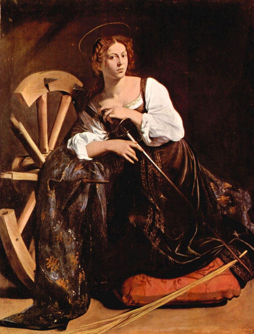 St. Catherine of Alexandria - Caravaggio