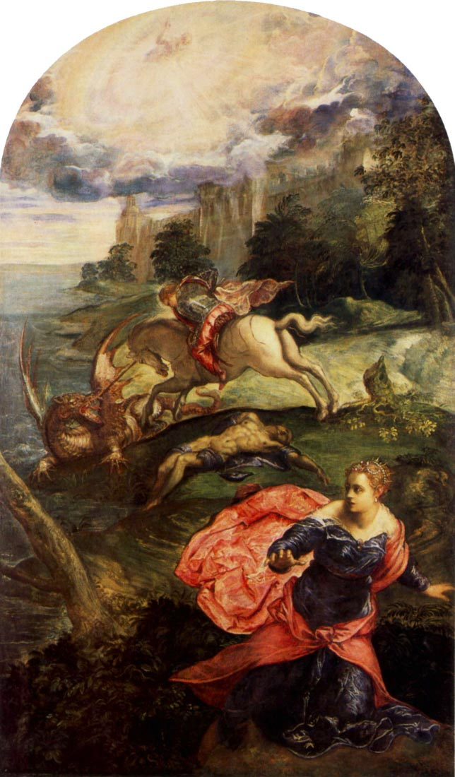 St. George and the Dragon - Tintoretto