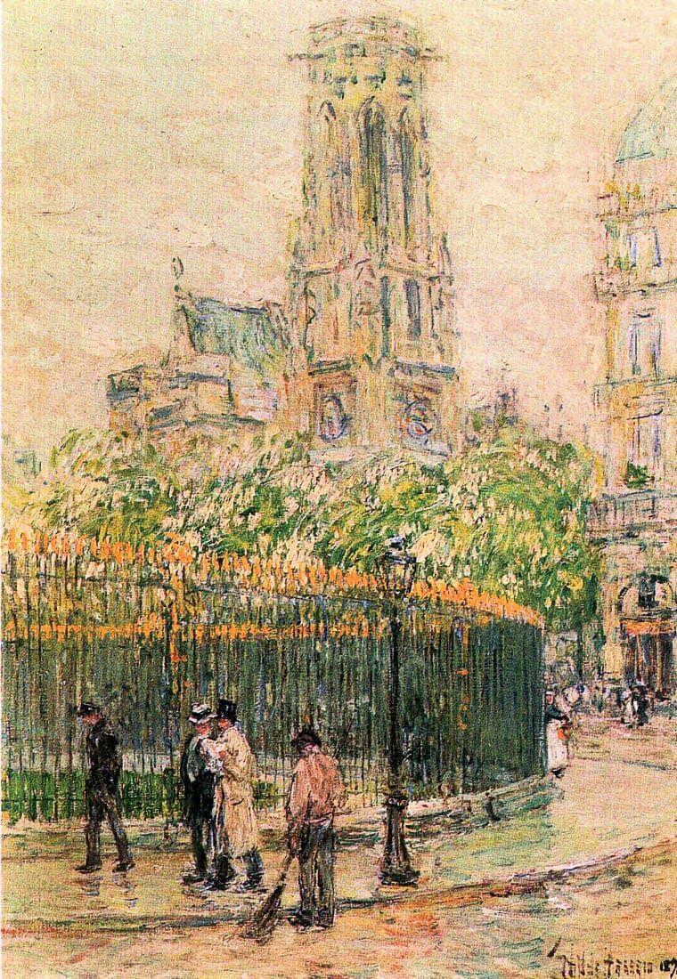 St. Germain l`Auxerrois - Hassam