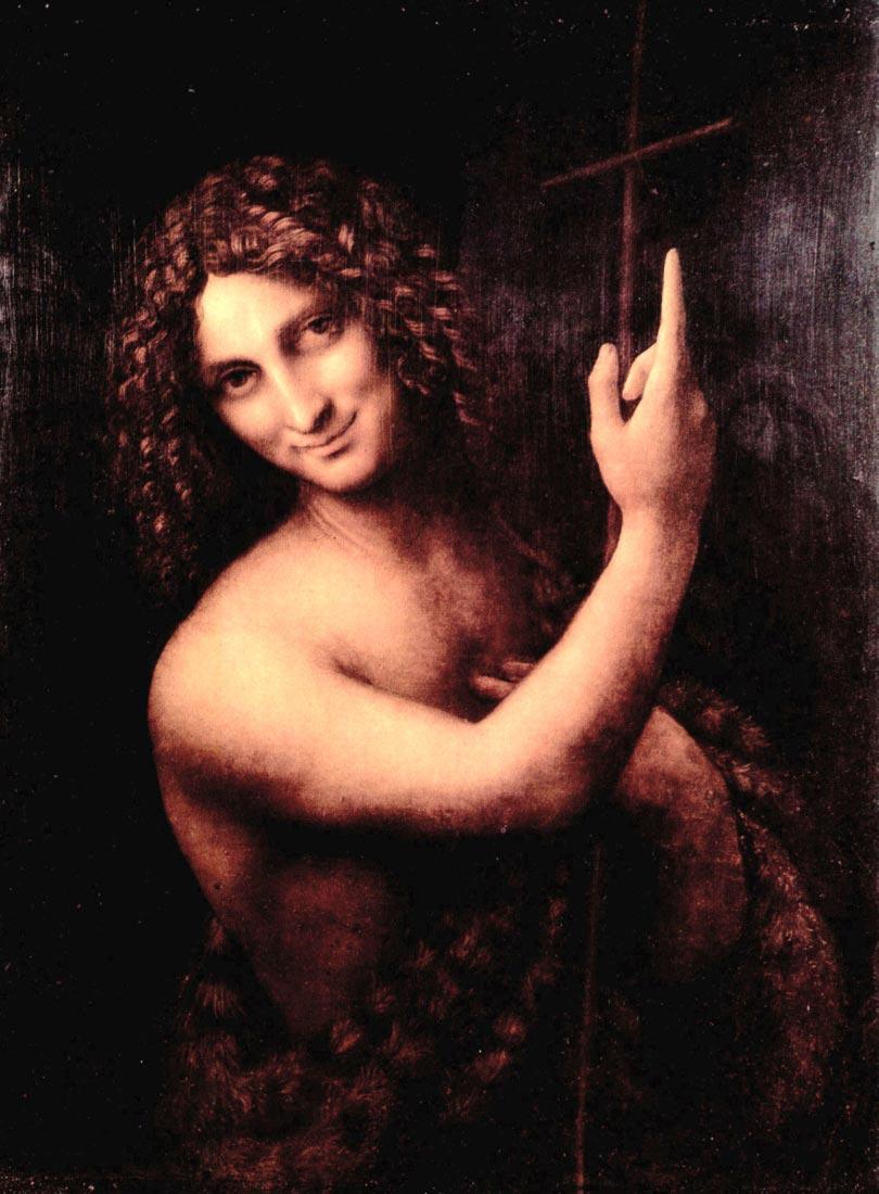St. John the Baptist - Da Vinci