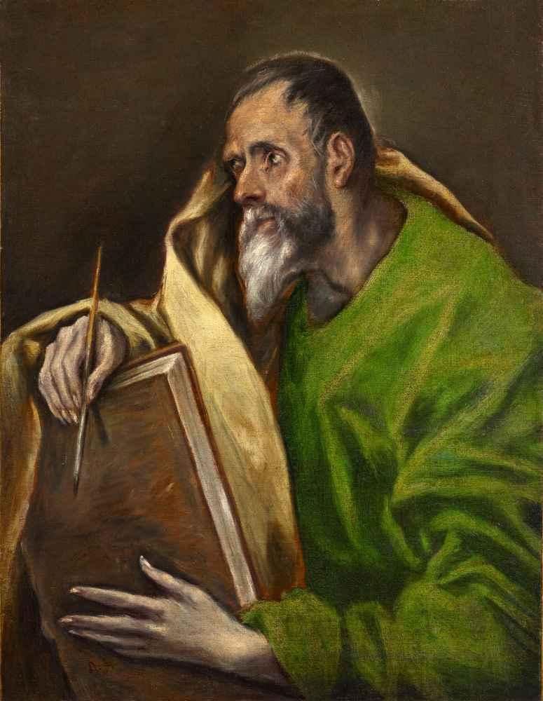 St. Luke - El Greco