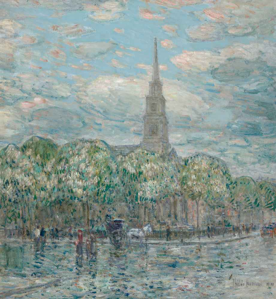 St. Mark's in the Bowery - Childe Hassam