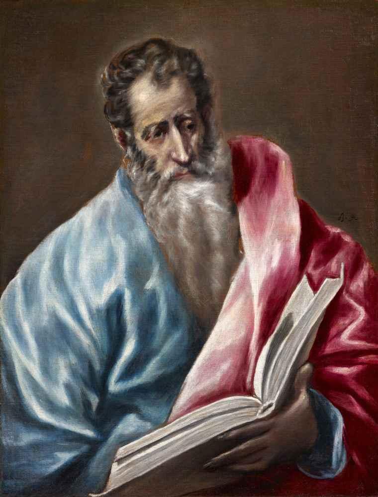 St. Matthew - El Greco
