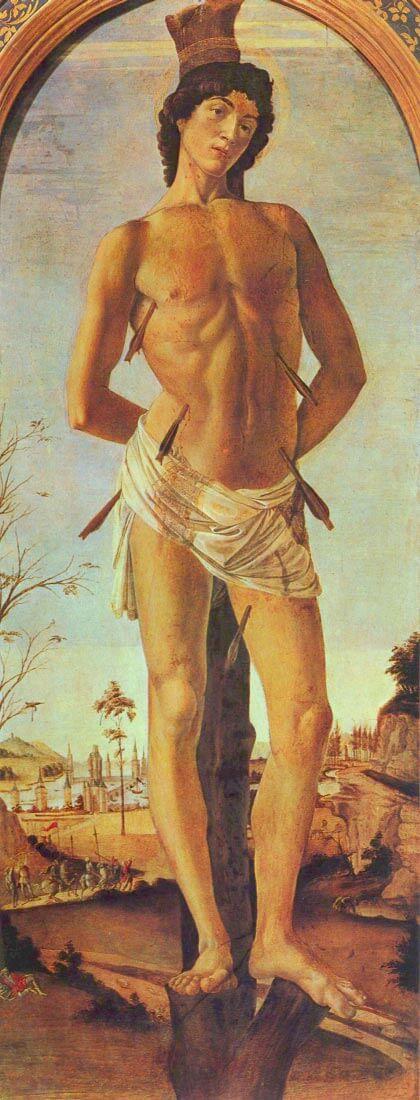 St. Sebastian - Botticelli