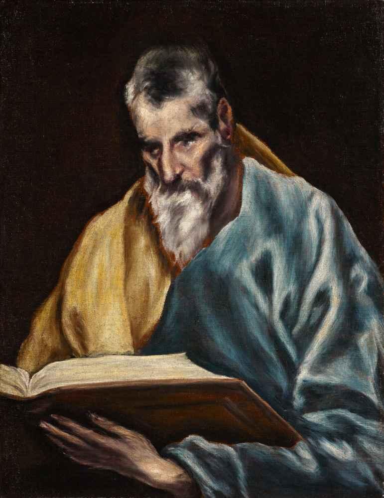 St. Simon - El Greco