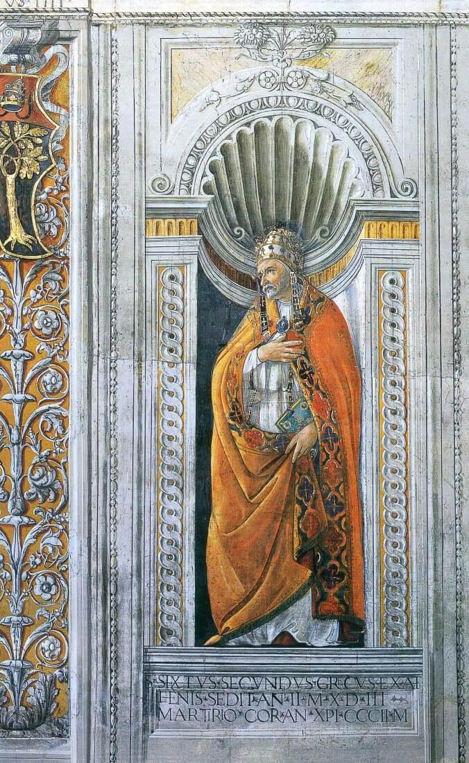 St. Sixtus II - Botticelli