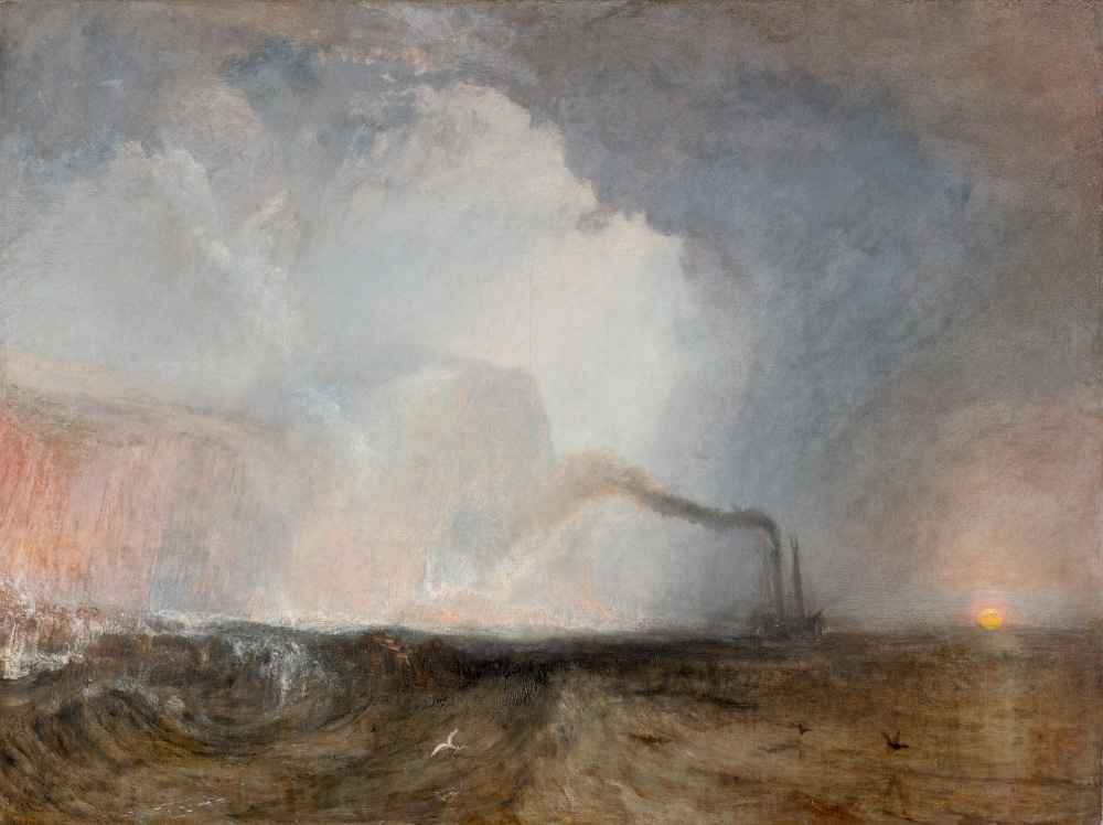 Staffa, Fingals Cave - Joseph Mallord William Turner