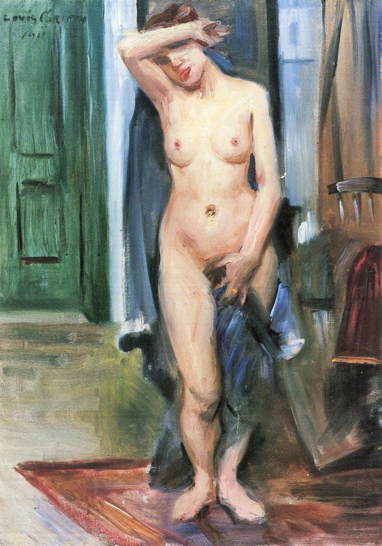 Standing Nude - Lovis Corinth