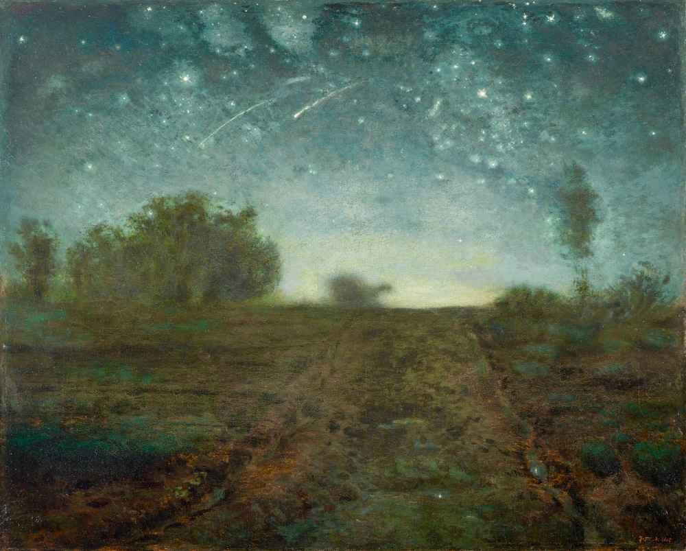 Starry Night - Jean Francois Millet