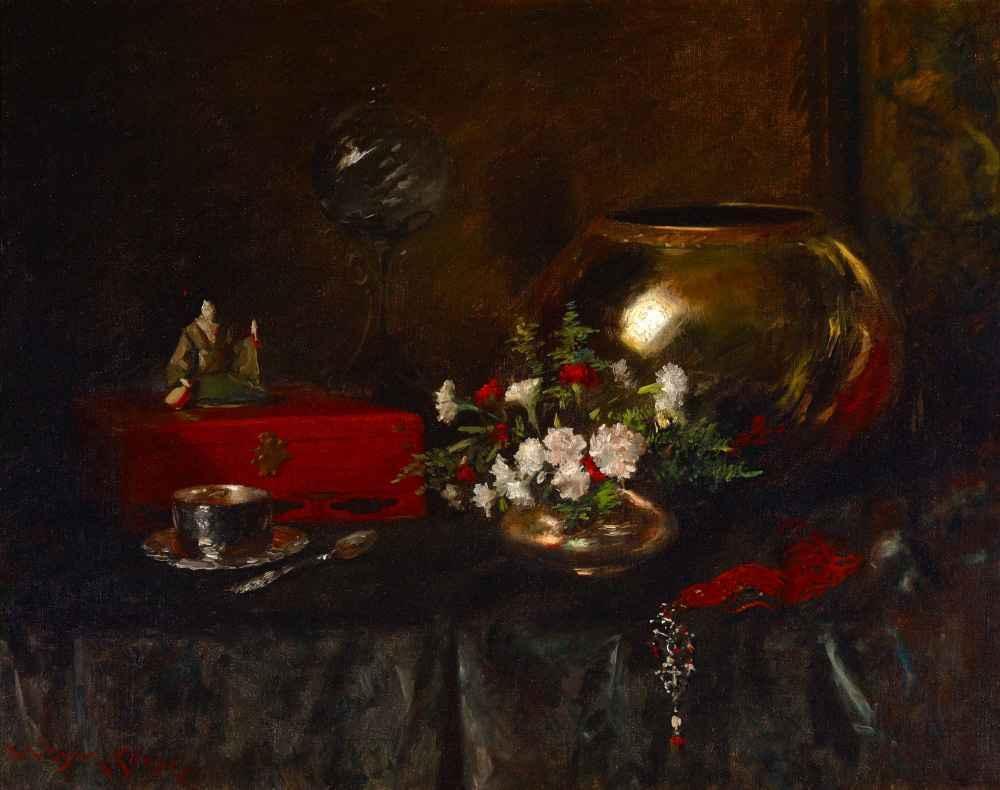 Still Life (Brass Bowl) - William Merritt Chase
