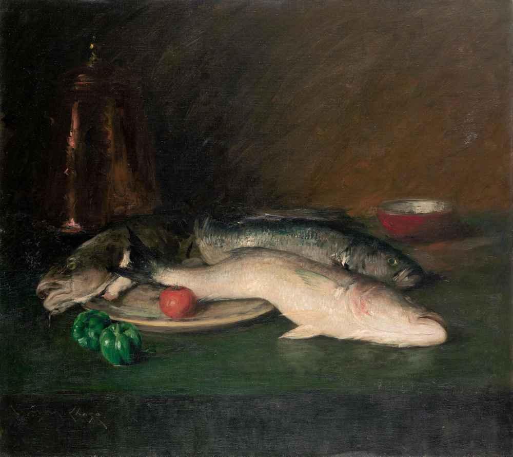 Still Life Fish - William Merritt Chase
