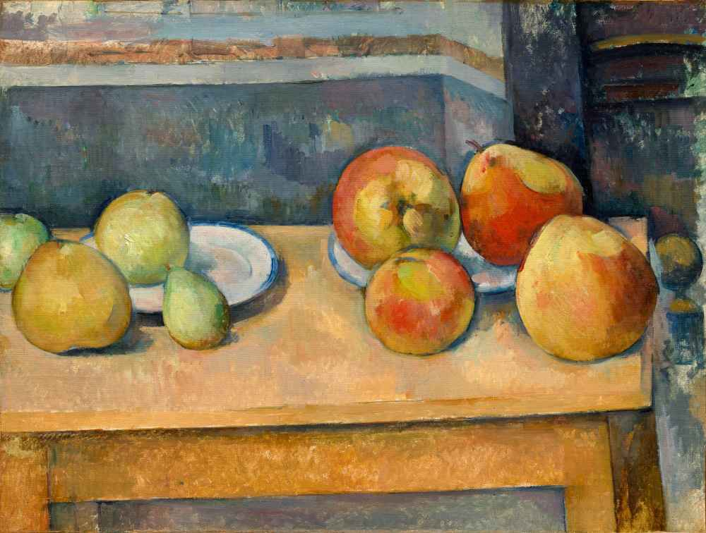 Still Life with Apples and Pears - Paul Cezanne