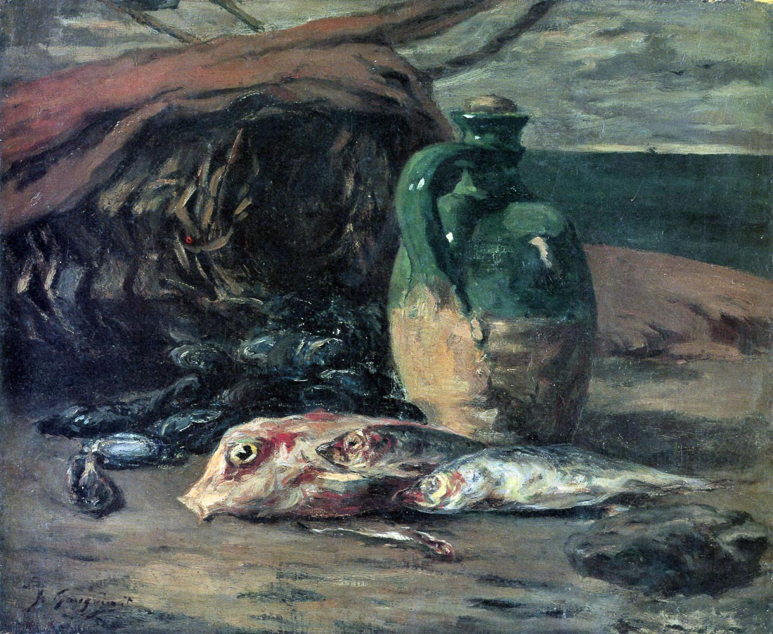 Still Life with Fish - Gauguin