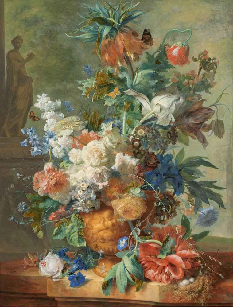 Still Life with Flowers - Jan van Huysum